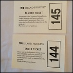 Our tender tickets