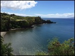 Honolua Bay from the overlook